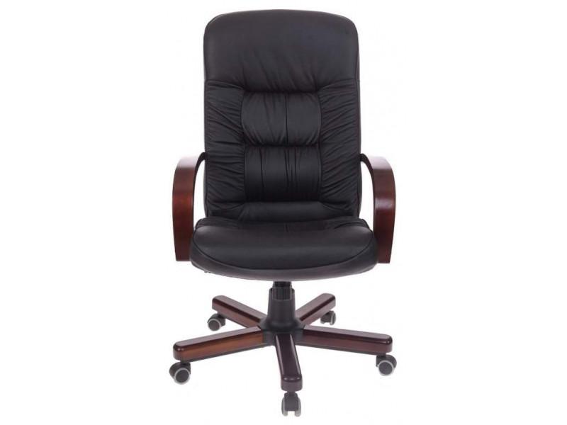 Кресло руководителя Бюрократ T-9908/WALNUT черный