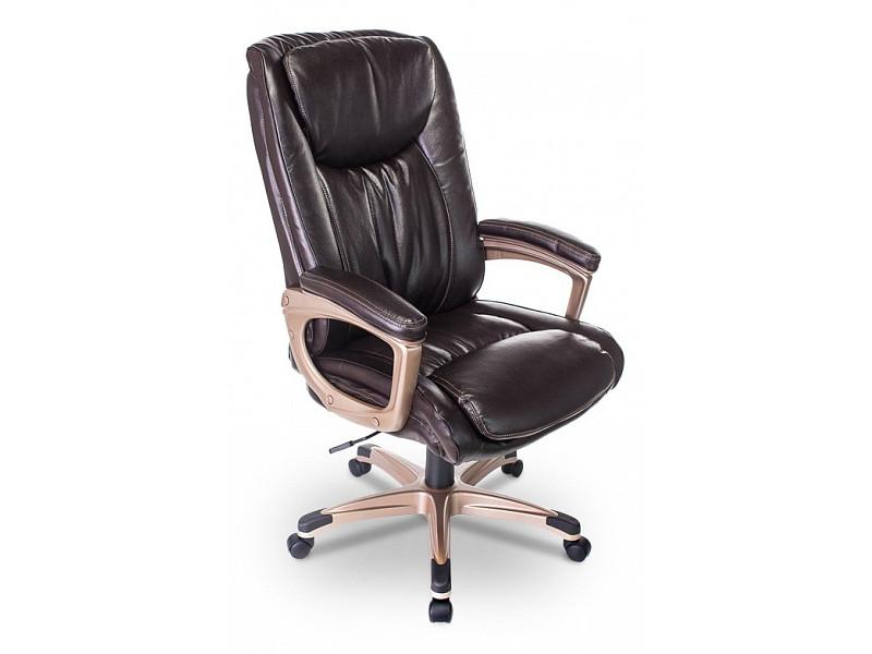 Кресло руководителя Бюрократ T-9914/BROWN коричневый