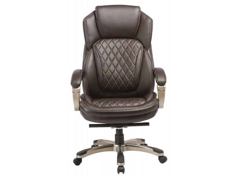 Кресло руководителя Бюрократ T-9915/BROWN коричневый