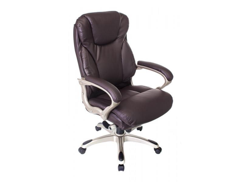 Кресло руководителя Бюрократ T-9916/BROWN коричневый
