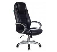 Кресло руководителя Бюрократ T-9923 черный Leather Venge Black искусственная кожа