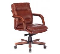 Кресло руководителя Бюрократ T-9927WALNUT-LOW светло-коричневый
