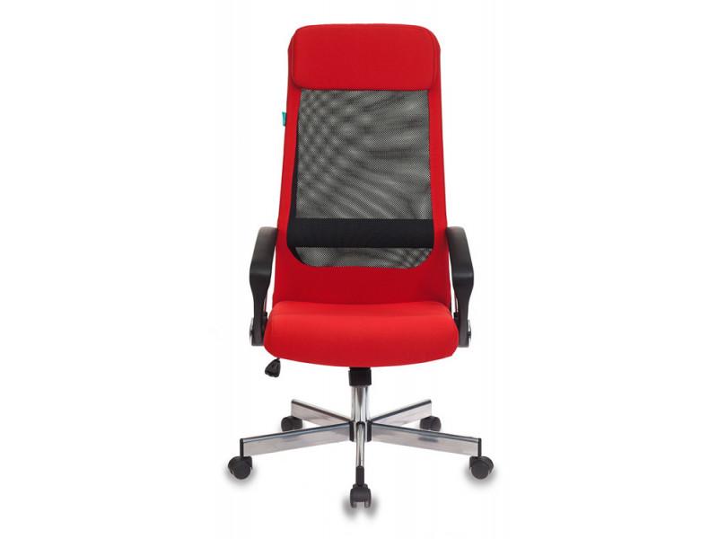 Кресло руководителя Бюрократ T-995HOME/RED красный