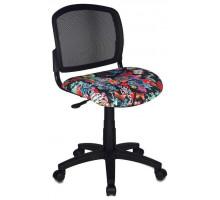 Офисное кресло Бюрократ CH-296NX/TATTOO черный