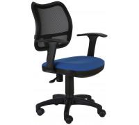 Офисное кресло Бюрократ CH-797AXSN/26-21 синий/черный