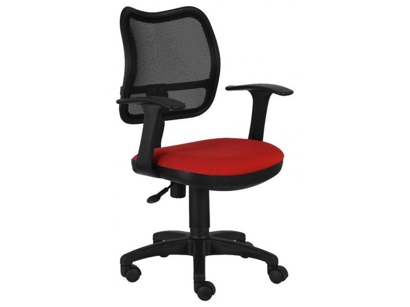 Офисное кресло Бюрократ CH-797AXSN/26-22 красный/черный