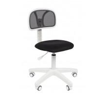 Офисное кресло Chairman 250 белый пластик TW-11/TW-01 черный
