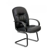 Офисное кресло Chairman 416V ЭКО черный глянец