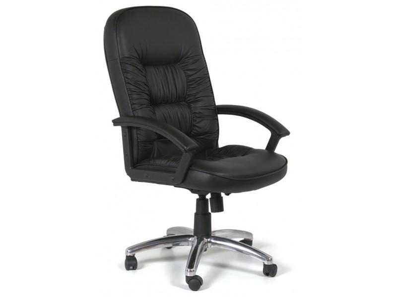 Офисное кресло Chairman 418 PU2001-12 черное матовое