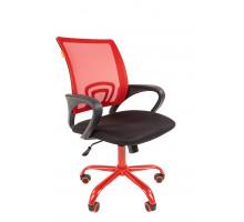 Офисное кресло Chairman 696 TW красный/CMet