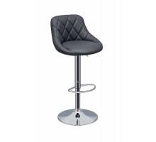 Барный стул из экокожи  CH-5023 черный
