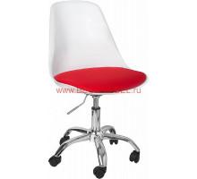 Стул Tulip (Eero Saarinen) А711-5 белый/красный